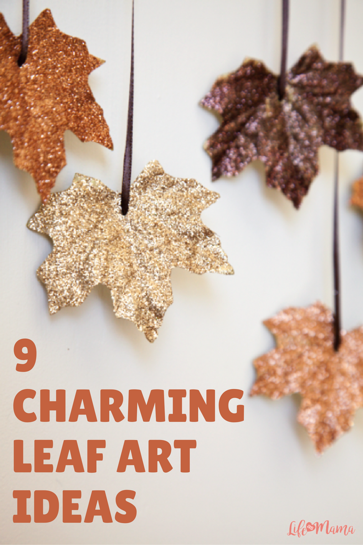 9 Charming Leaf Art Ideas