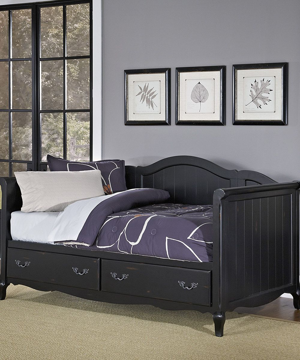 Look at this Home Styles Black French Countryside Daybed on #zulily today!