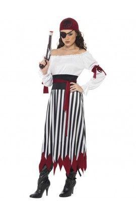 Disfraz De Pirata Guerrera Disfraz De Pirata Mujer Traje Femenino Disfraz De Pirata