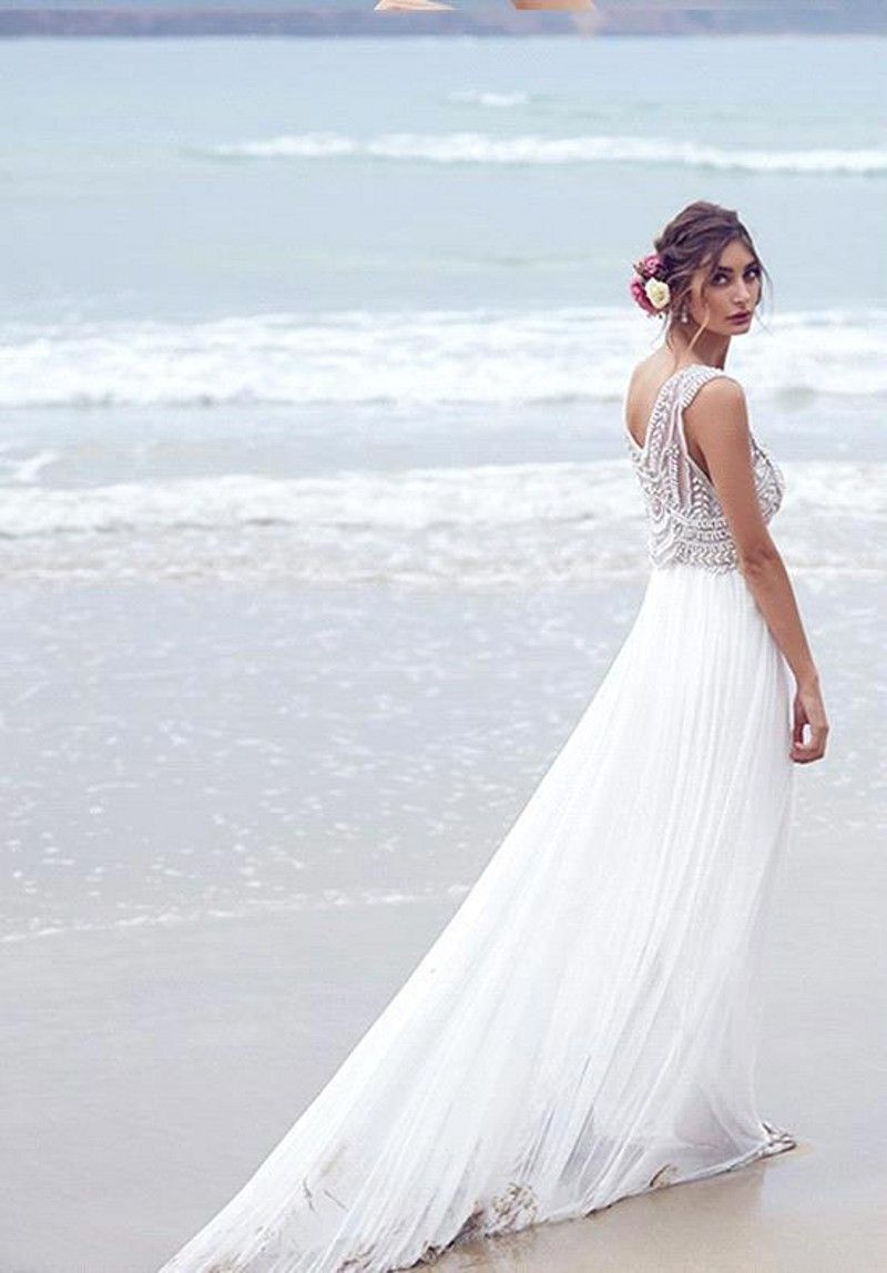 Ropademoda Me Coast Wedding Dress Wedding Dresses Beaded Destination Wedding Dress
