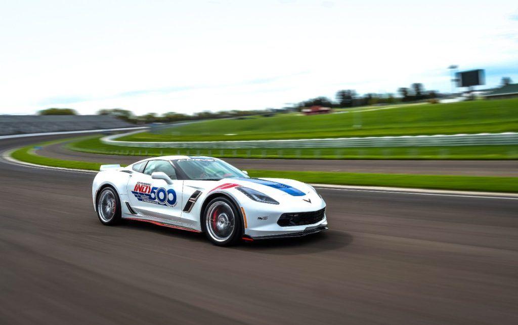 2017 corvette grand sport indianapolis 500 pace car photo