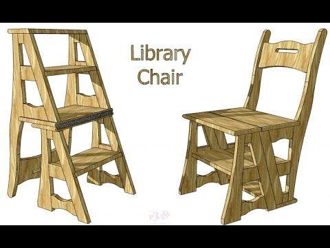 Surprising Creating A Transforming Chair Ladder Diy Crafting Wood Download Free Architecture Designs Scobabritishbridgeorg