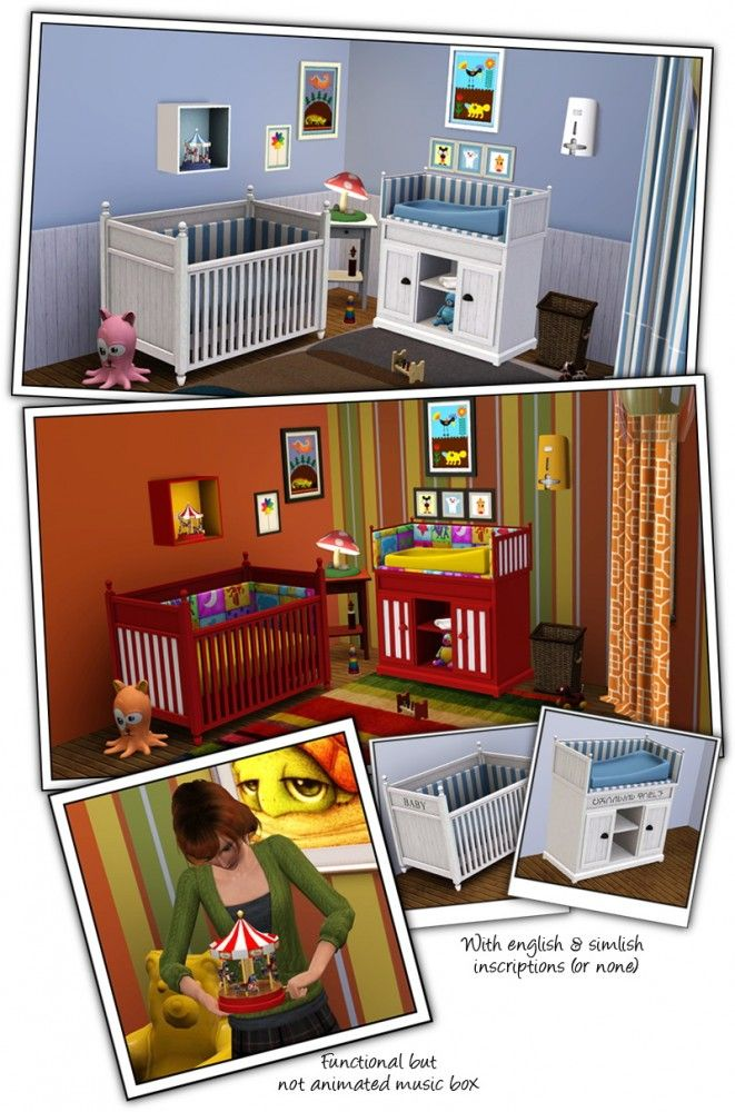 Coastal Nursery by Sandy - Sims 3 Downloads CC Caboodle | sims 3