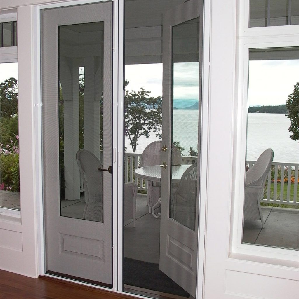 in retractable brisa p brstbe doors standard bronze door odl x screen