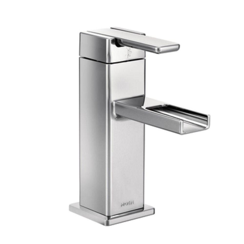 Shop Moen 90 Degree 1 Handle Singlemount Bathroom Faucet at Lowe\'s ...