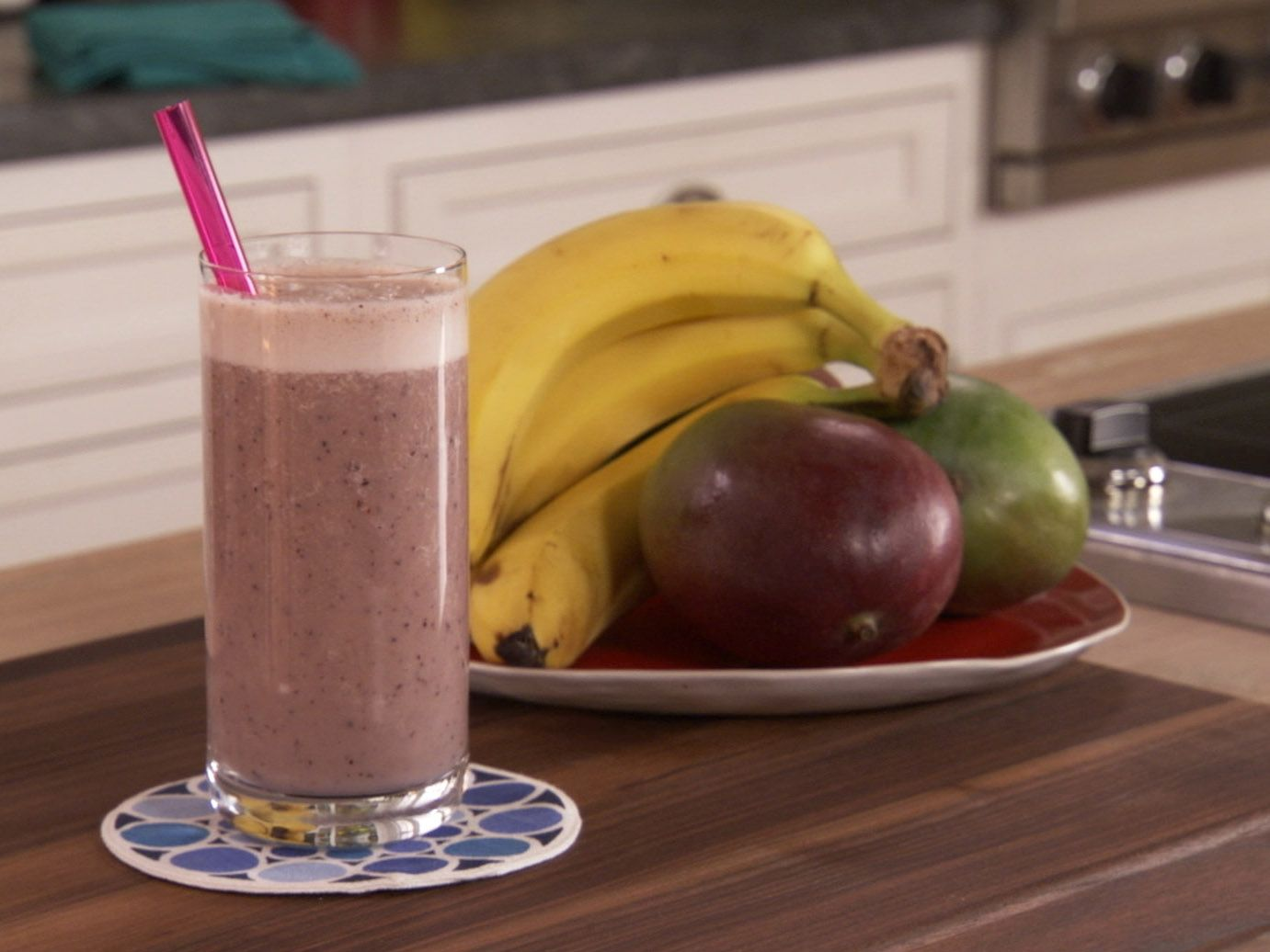Almond Milk and Berry Smoothie from FoodNetwork.com