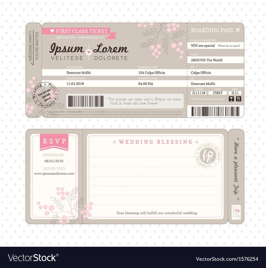 30 Exclusive Picture Of Wedding Invitations Template Bodas