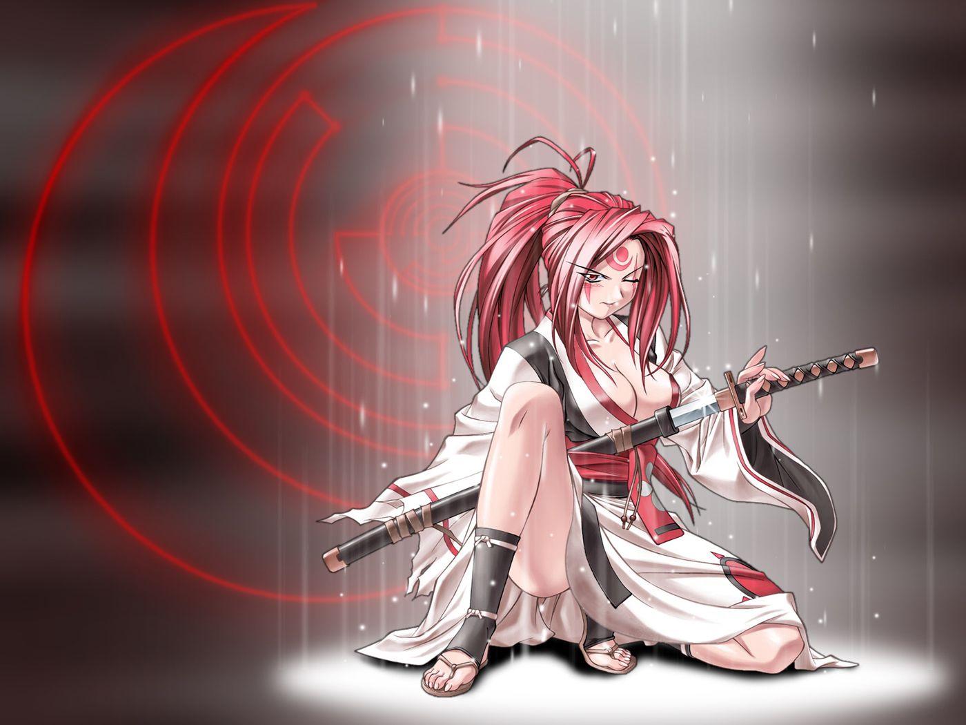 Baiken Guilty Gear Anime Anime Warrior