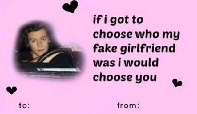 One Direction Valentine S Day Cards Celebrate The Love With 1d Funny Valentines Cards Valentines Memes Stupid Valentines Cards