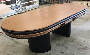 Oval Dining Top Board Custom Poker Table Custom Poker Tables Poker Table Table