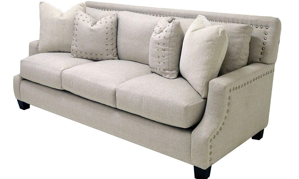 Marvelous Picture Of Hanson Nailhead Sofa