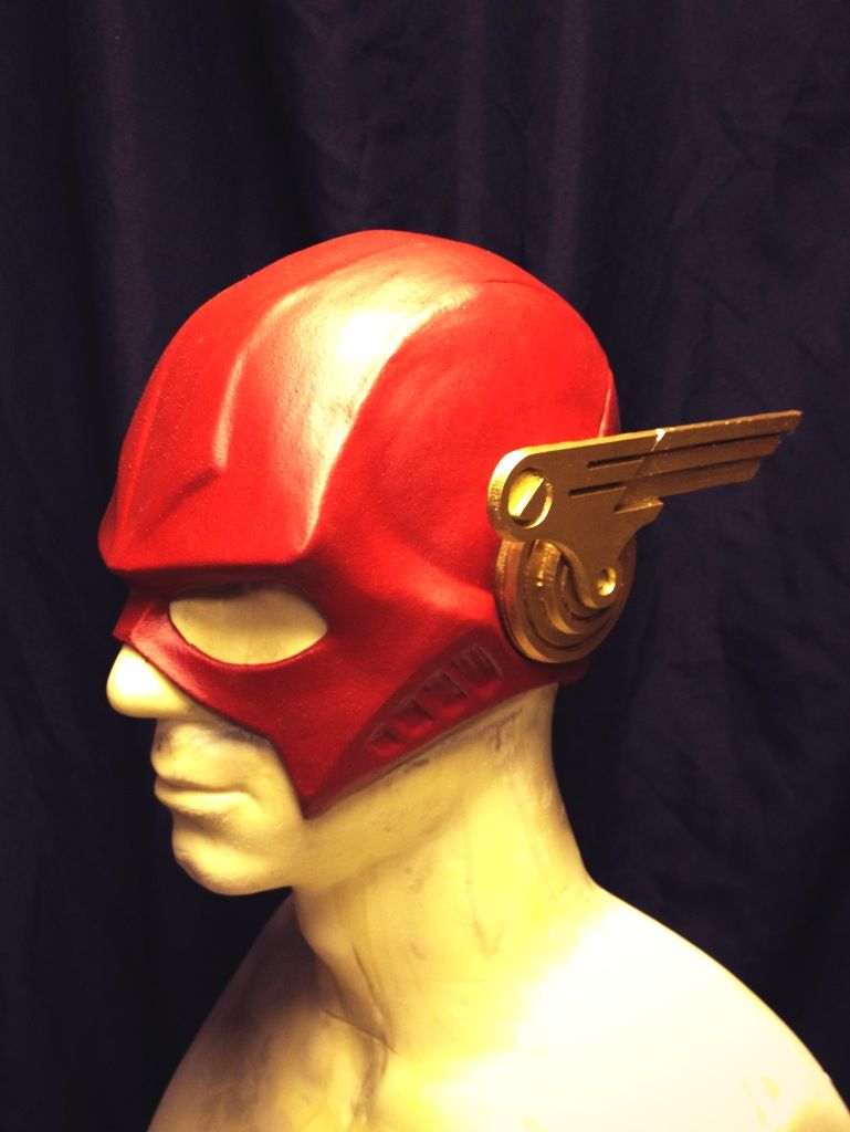 Another pic of our Completed Injustice Flash Helmet  http://malmey-studios.com/?page_id=3460