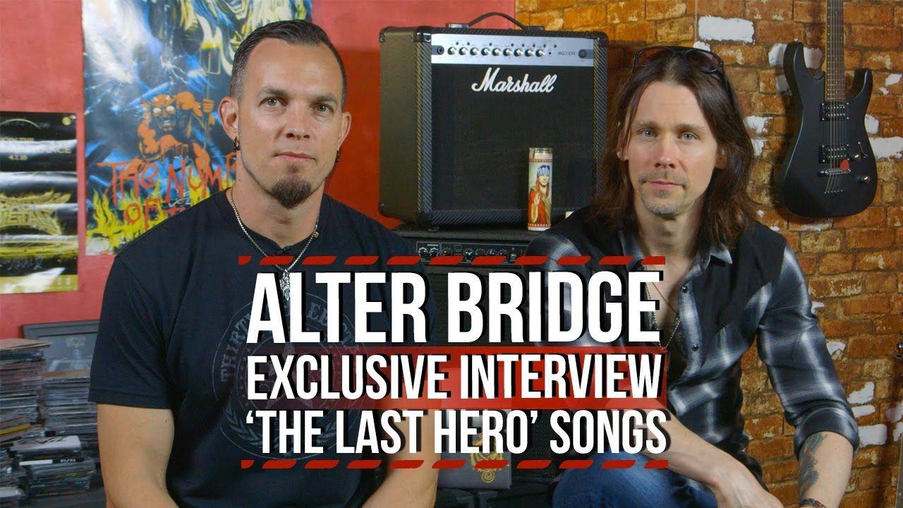 Alter Bridge Discuss Songs From The Last Hero Album With Images