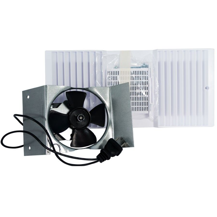 Rush Hampton Ca90 Ductless Fan Motor Assembly With White Louver And Filter B Pack Bathroom Exhaust Fan Bathroom Exhaust Bathroom Fan