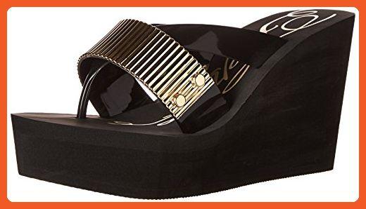 2c7530169ec4 Fergie Women s Evoke Wedge Sandal