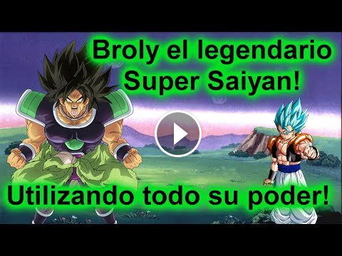 El Legendario Super Saiyan Broly En Accion Roblox Anime Cross 2