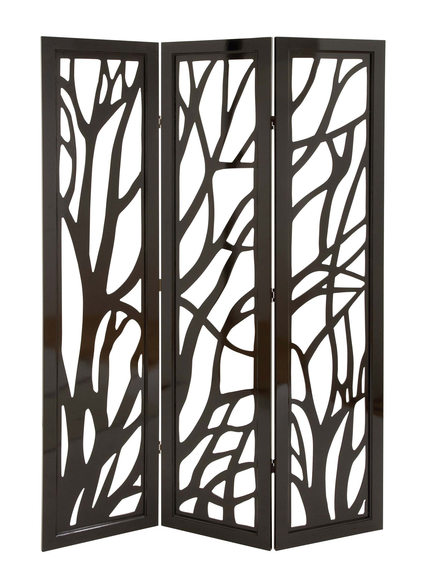 Woodland Imports 72 X 48 3 Panel Room Divider Reviews Wayfair