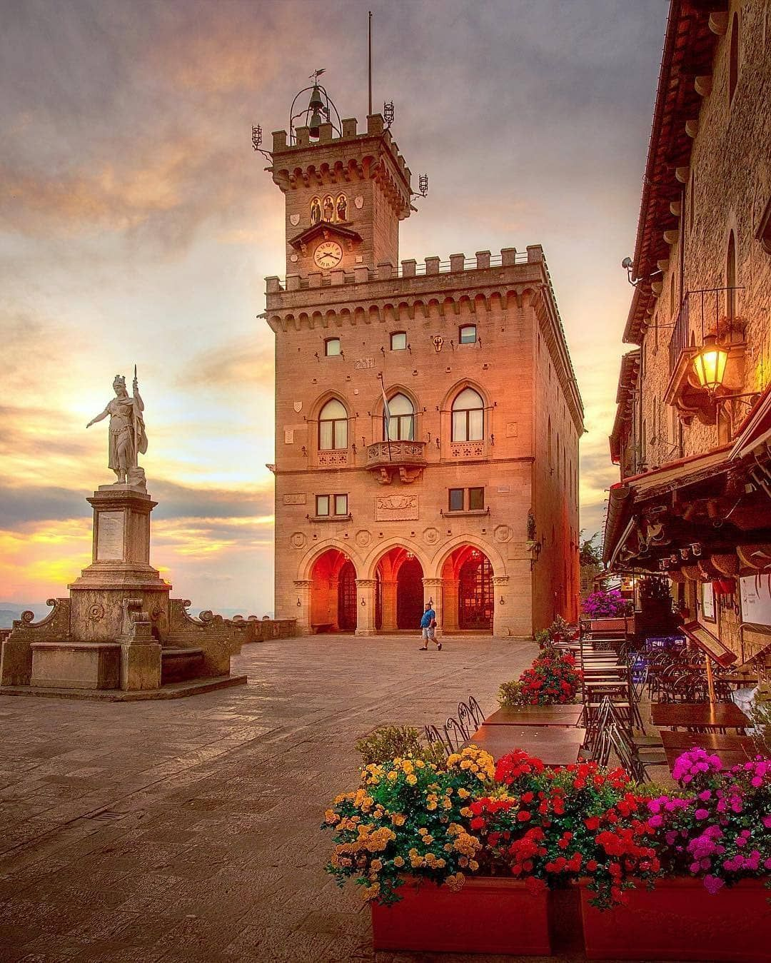 San Marino Italy Italien Venedig Italien Norditalien