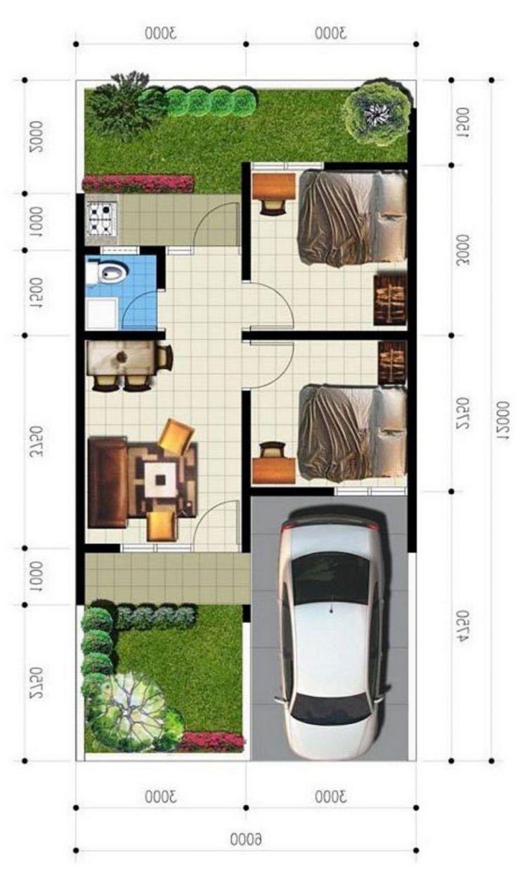 82 Foto Desain Rumah Type 36 Tanah 60 Gratis Download Beautiful House Plans Small House Design Architecture House Plans Denah rumah type 36