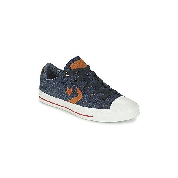 Converse STAR PLAYER DENIM OX Shoes ($85) ❤ liked on