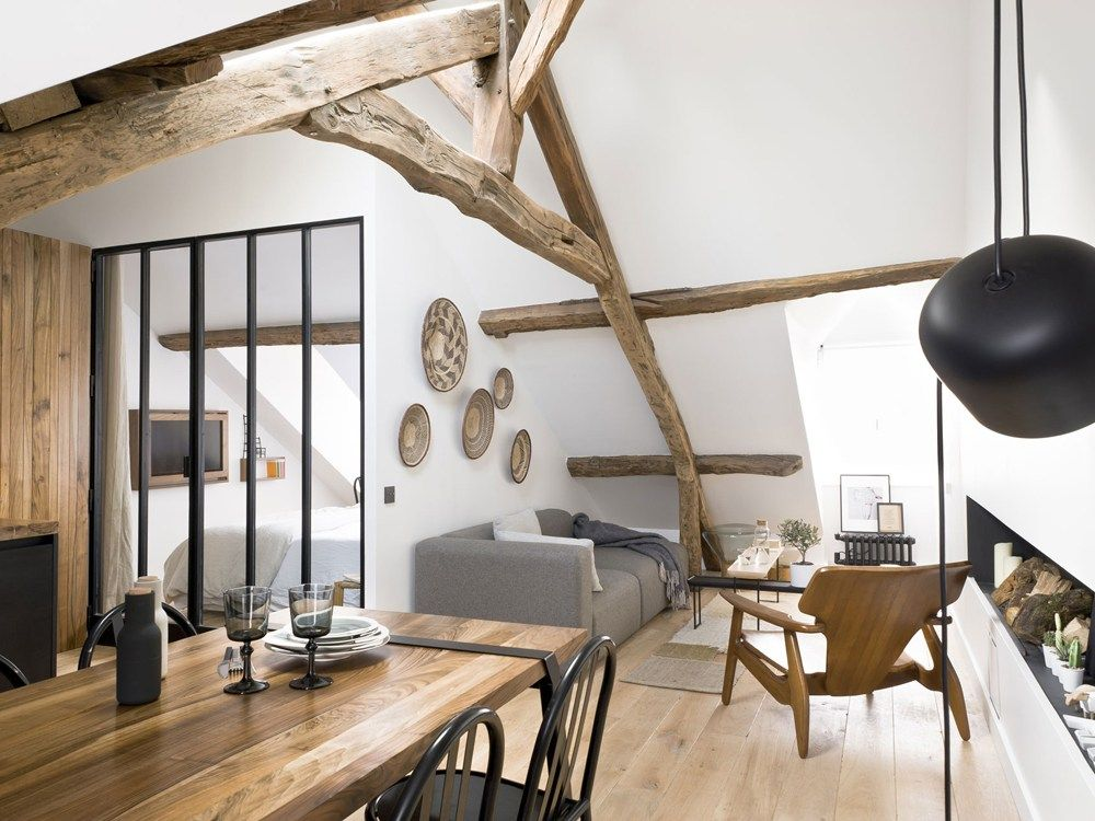 Estilo r stico moderno y n rdico en paris estilo r stico for Decoracion de interiores paris