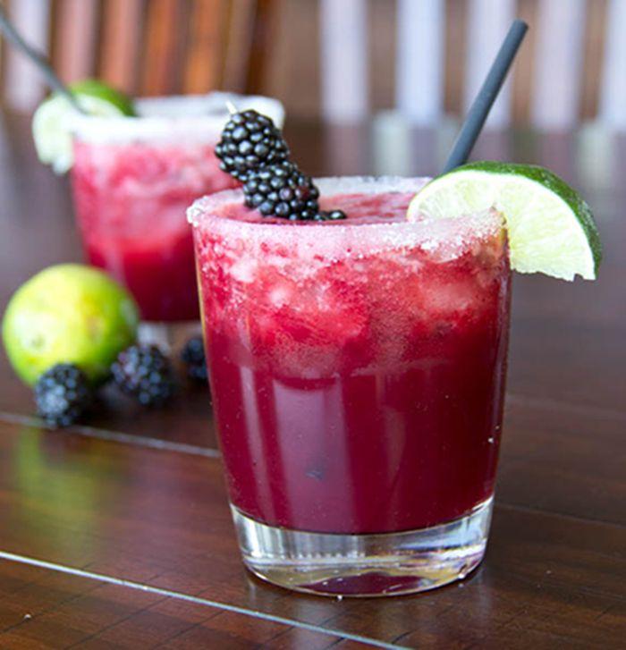 Blackberry Margarita, Food