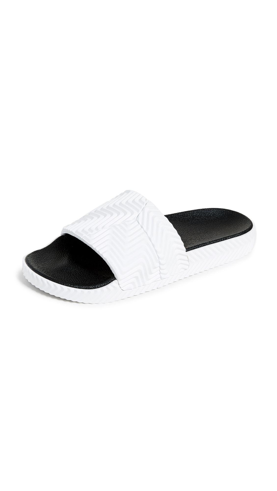 18b2981a9 ADIDAS ORIGINALS BY ALEXANDER WANG ADILETTE SLIDES.  #adidasoriginalsbyalexanderwang #shoes #