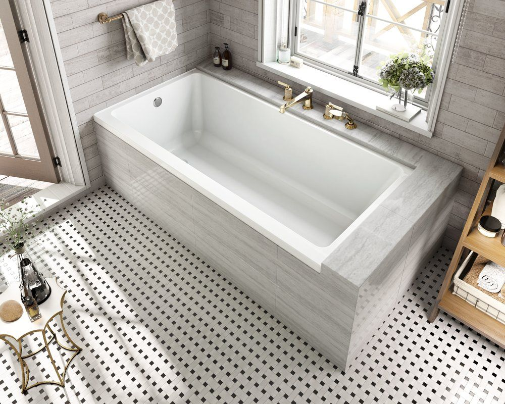 Equinox 60 X 30 Freestanding Soaking Bathtub Bathtub Remodel