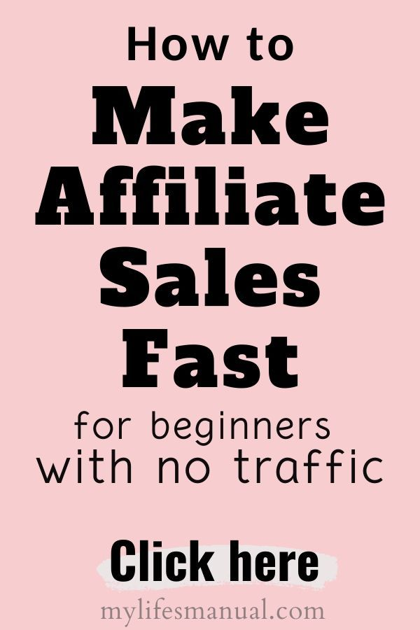 How To Make Affiliate Sales Fast As A New Blogger
