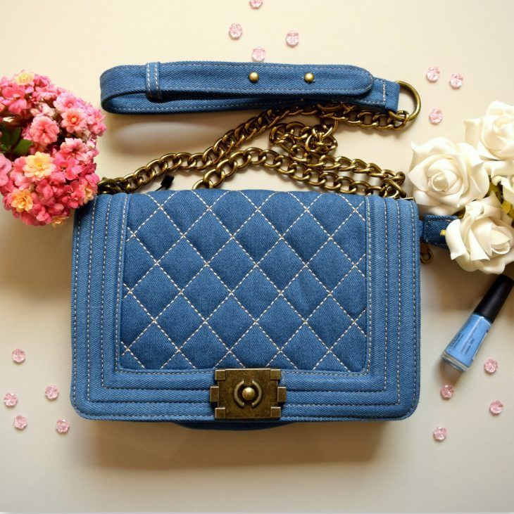 c49c34e85 bolsa-chanel-jeans-denim-chanel-inspired-replica-comprar | .o0×X×0o ...