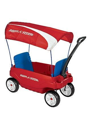 I want this double wagon for my son and niece SO BADLY! It has cup holders for petes sake!!