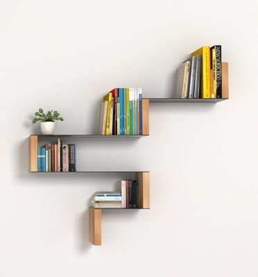 Repisa de madera libre distribucion decoraci n hogar - Libros de decoracion de interiores gratis ...