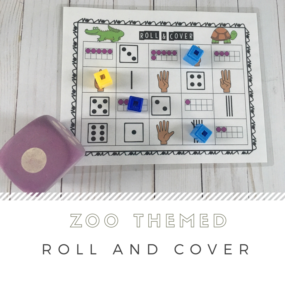 Zoo Math And Literacy Centers For Preschool Prek And