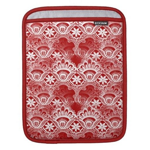 $$$ This is great for          Elegant Vintage Distressed Red White Lace Damask iPad Sleeves           Elegant Vintage Distressed Red White Lace Damask iPad Sleeves This site is will advise you where to buyDeals          Elegant Vintage Distressed Red White Lace Damask iPad Sleeves Here a g...Cleck Hot Deals >>> http://www.zazzle.com/elegant_vintage_distressed_red_white_lace_damask_ipad_sleeve-205996286592343036?rf=238627982471231924&zbar=1&tc=terrest