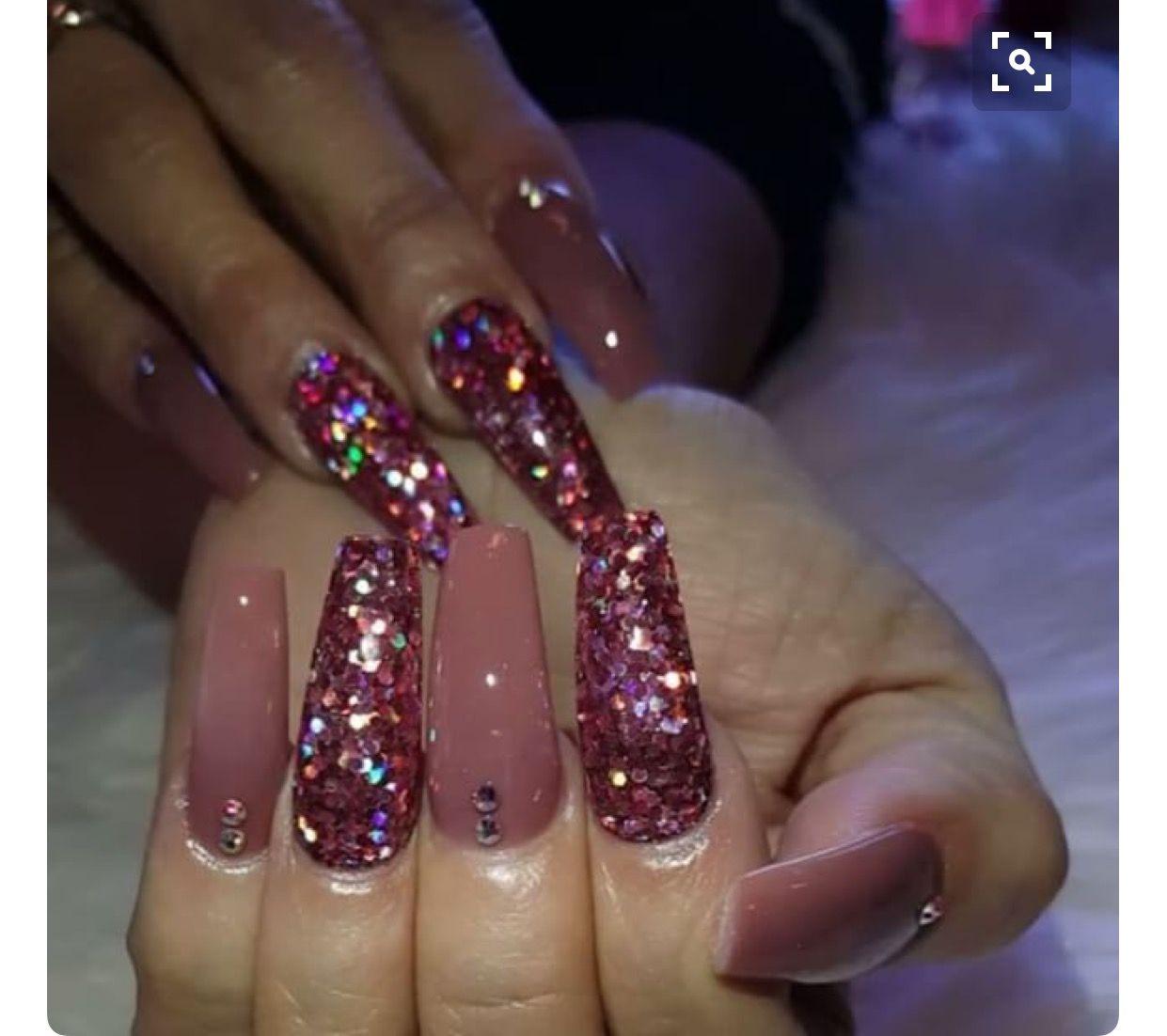 Pin by jancy Lopez Rivera on coffin nail design | Pinterest | Nail ...