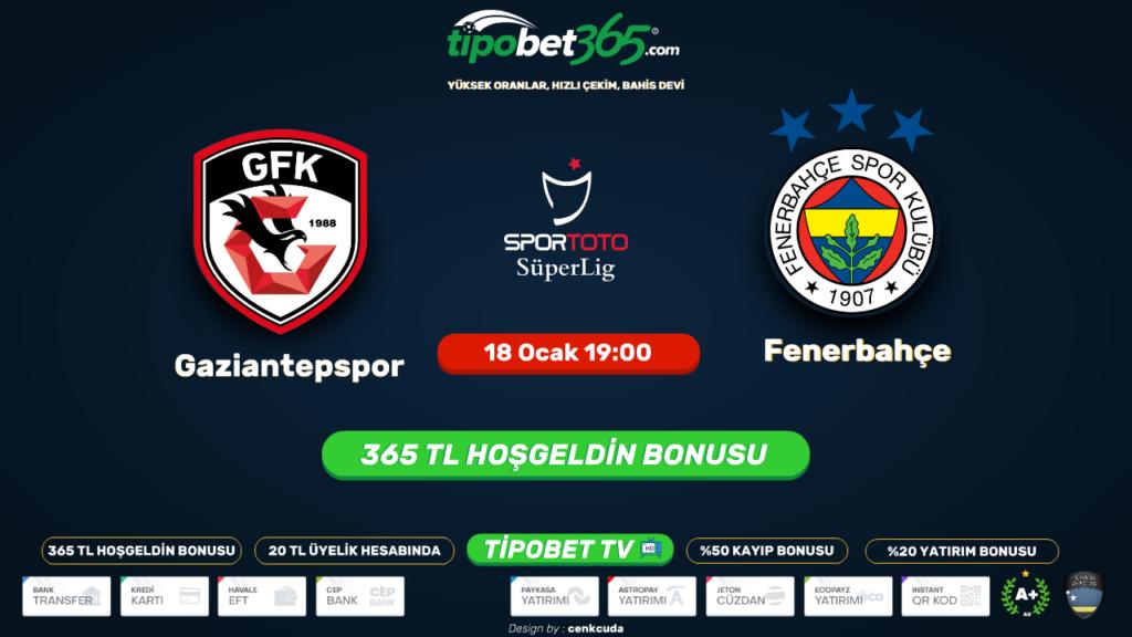 Gaziantep FK Fenerbahçe Bein Sport Şifresiz izle, 2020