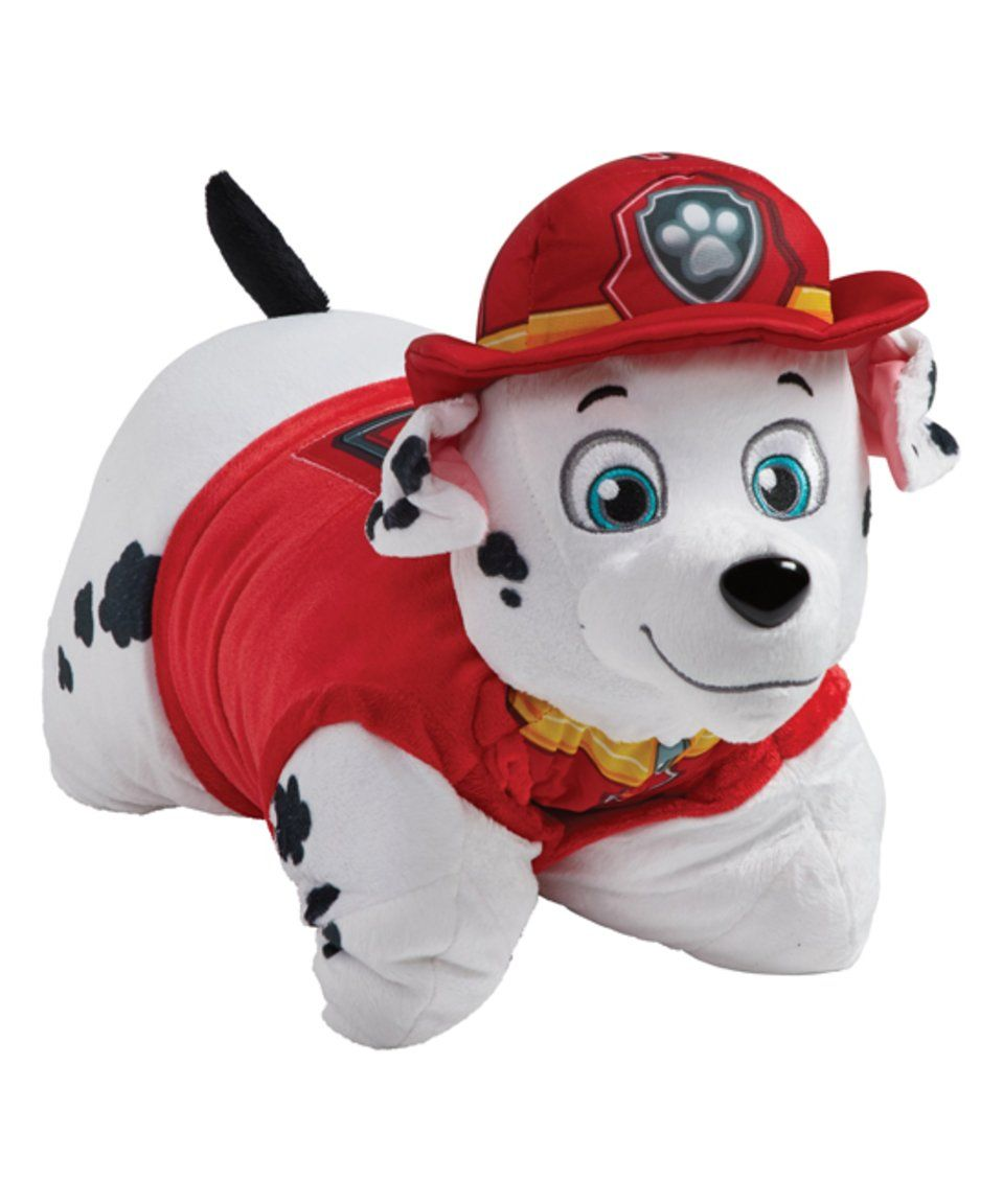 Take A Look At This Jumboz Paw Patrol Marshall Pillow Pets Plush Toy Today Animal Pillows Animal Plush Toys Pet Paws