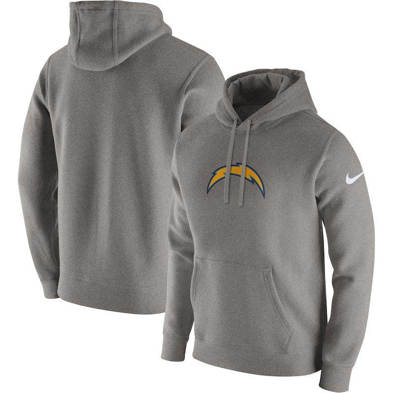 Los Angeles Chargers Nike Club Fleece Pullover Hoodie
