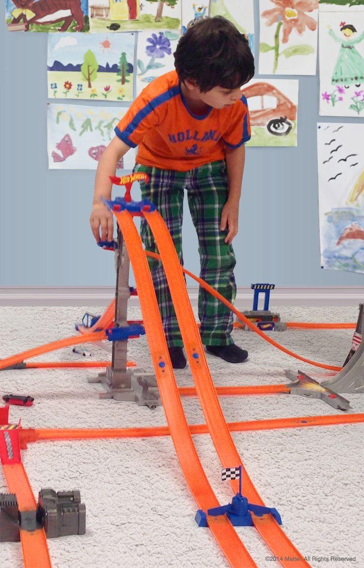 Hot Wheels Track Builder Bundle Shop Mattel Com Hot Wheels Track Hot Wheels Toys Hot Wheels Track Builder