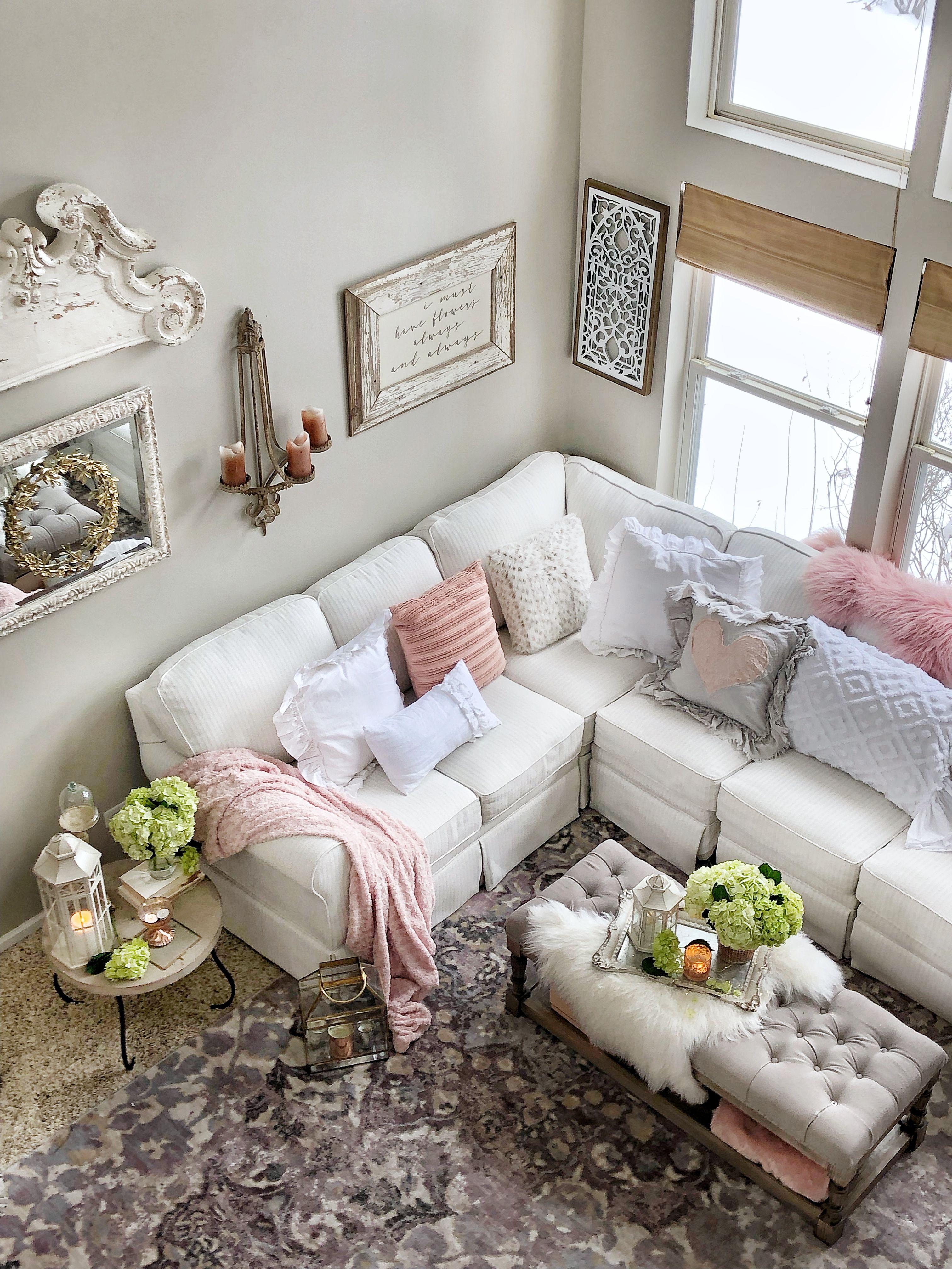 Flowers Hydrangeas Decorating Home Decor Living Room Decor Room Decor Living Decor Home Decor