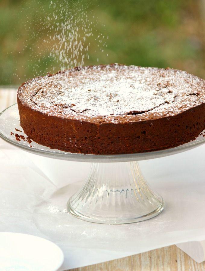 Torta Caprese Rezept Essen Und Trinken