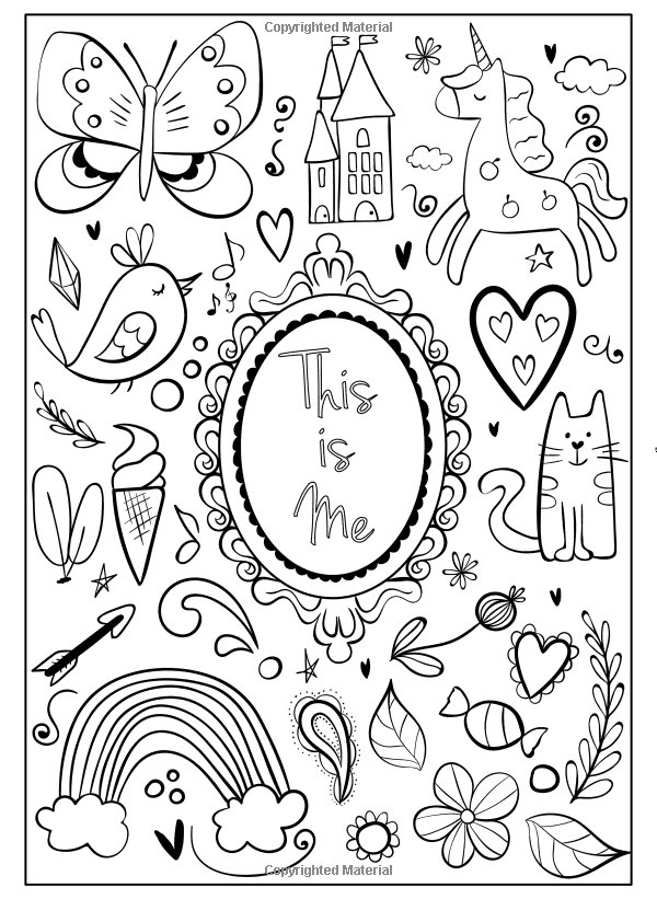 I Am Confident Brave Beautiful A Coloring Book For Girls Hopscotch Girls 9780692927991 Amazon Com Books In 2020 Coloring Books Book Girl Poetry For Kids