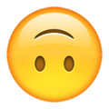 Use it wisely, use it often, use it well. | PSA: The Upside-Down Smile Is The Greatest New Emoji