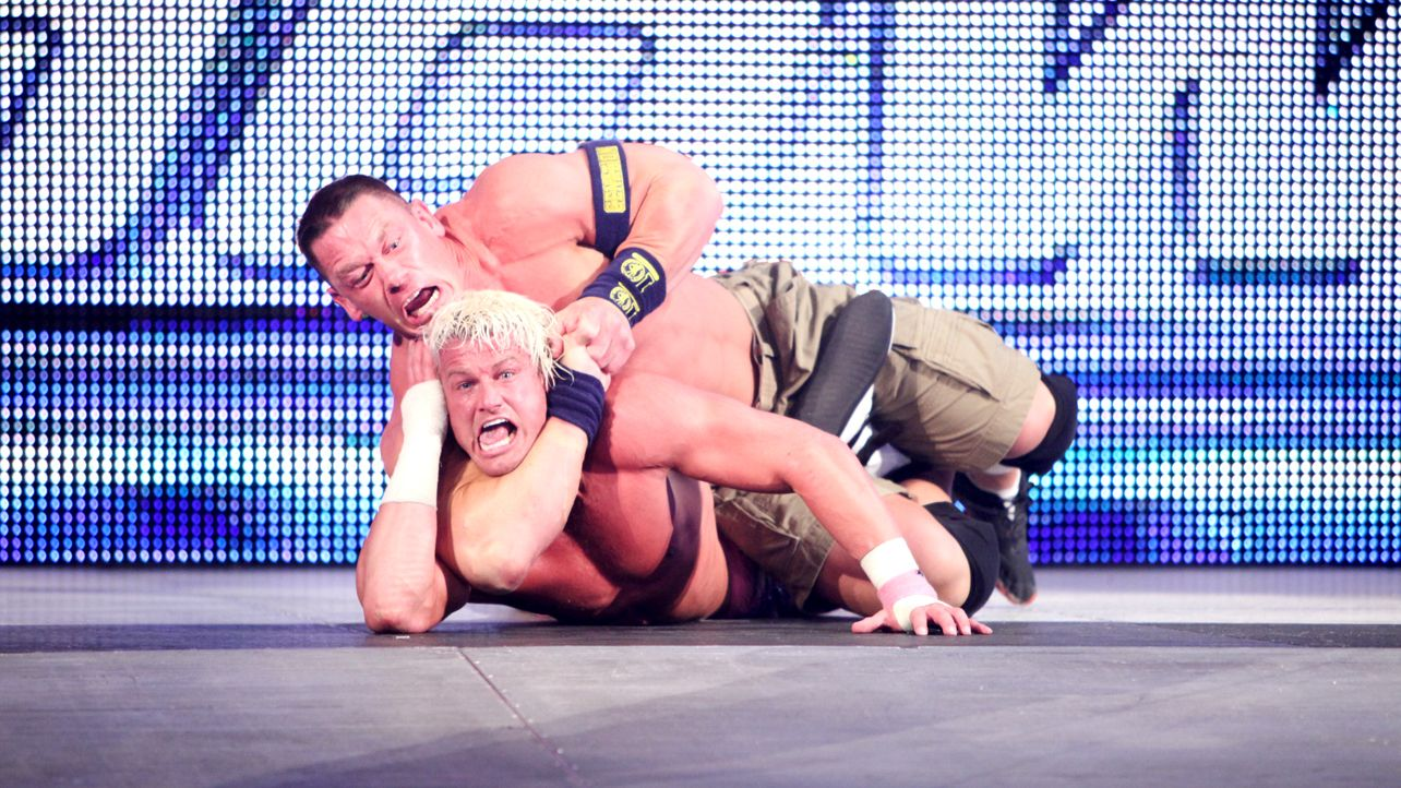 John Cena Legit Choked Out Some WWE Stars With STF Finisher 1