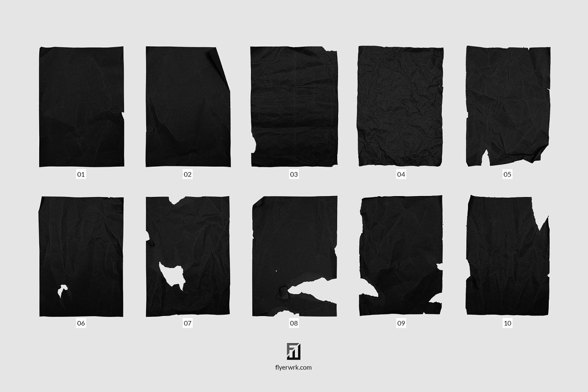 Crumpled Paper Sheets In Png Photoshop Help Crumpled Paper Grungy Style