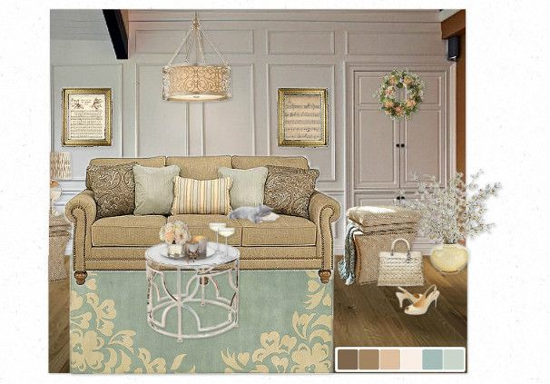 awesome color palette, soothing and calm
