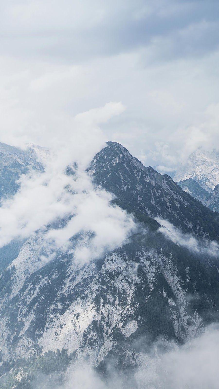 Misty Mountain Iphone Wallpaper Mountains Mountain Wallpaper Iphone Wallpaper