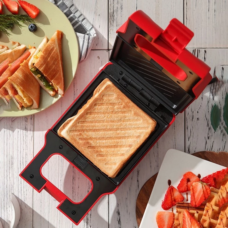 Non Stick Pan Toaster Sandwich Maker Machine Multi Function Mini Sandw House Insides