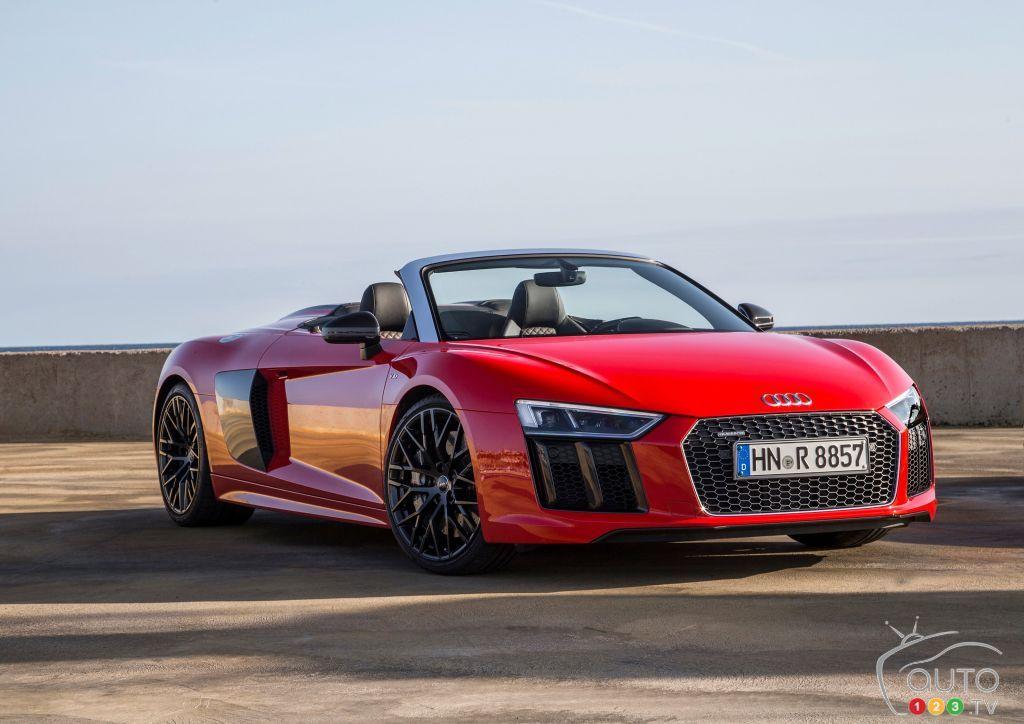 #Audi SQ5, RS3, TT RS and R8 Spyder shine at Toronto show | Car News | Auto123