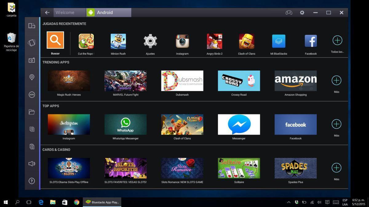Review de BlueStacks 2, un excelente emulador de Android para Windows